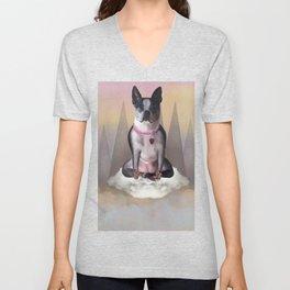 Zen Terrier Unisex V-Neck