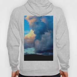 Abstract Color Swaths Hoody