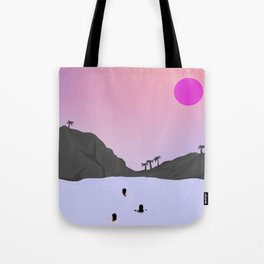 Sunset Fury Tote Bag