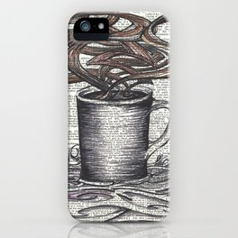 Waves of Roasted Goodness iPhone Case