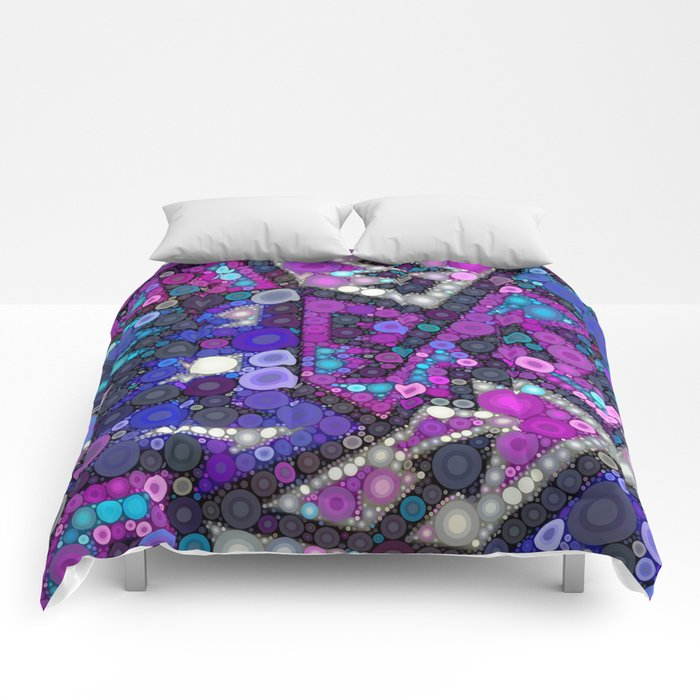 Hipster Bubbles Comforters