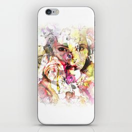face of face iPhone Skin