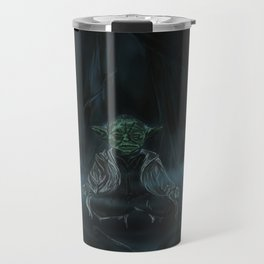 Meditation On Dagobah Travel Mug