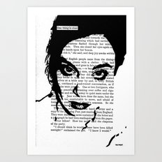 One Thing Is Clear Art Print