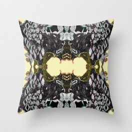 Lace Wing Throw Pillow