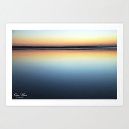 Calm Water Sunset Art Print