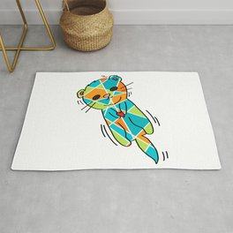 There's No Otter Like You - Cute Loving Otter - 57 Montgomery Ave Rug