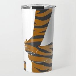 tiger butt Travel Mug