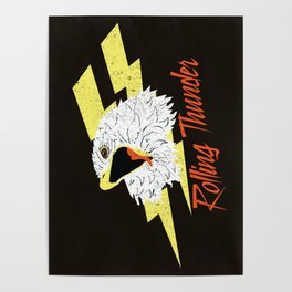 Screaming Eagle (Rolling Thunder) Poster