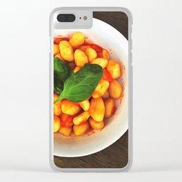 Gnocchi Clear iPhone Case