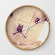 B for bear Wall Clock