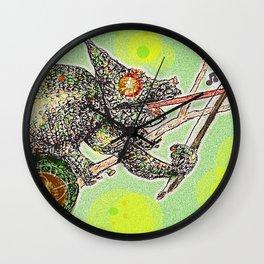 Fiddler tree Wall Clock
