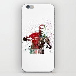 Cristiano Ronaldo #CristianoRonaldo art 2 iPhone Skin