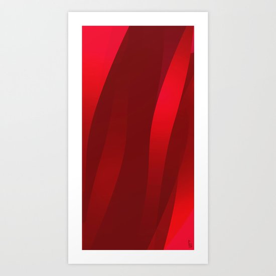 Streams of Passion Art Print