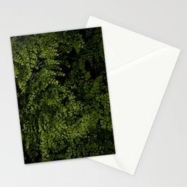Small leaves Stationery Cards