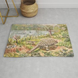 Dinosaur, Ankylosaurus Rug