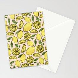 Make Some Freakin' Lemonade - Pink Stationery Cards