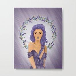Lady of Spring (Lavender) Metal Print
