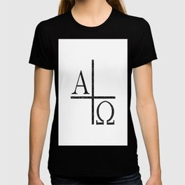 Alpha Omegs Icon Image T-shirt