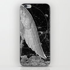 A Very Old Man with Enormous Wings iPhone Skin