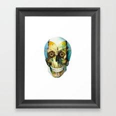 SKULL#02 Framed Art Print