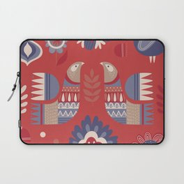 BIRDS AND FLOWERS 2 Laptop Sleeve