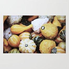 Autumn Gourds Rug