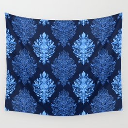 In The Garden Ogee Pattern Wall Tapestry