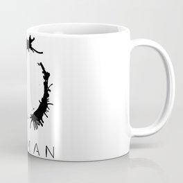 Arrival - Woman Black Coffee Mug