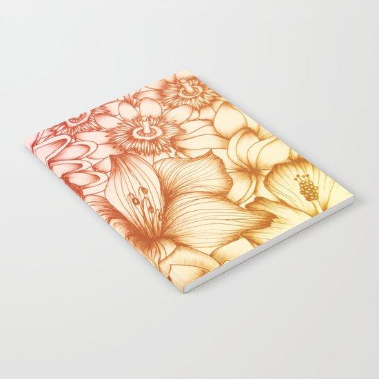 Tropical Flowers II Notebook