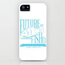 FUTURE FISH CO. iPhone Case