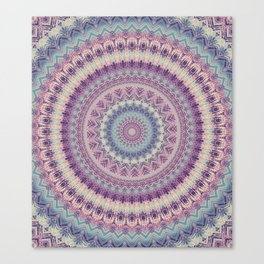 Earth Mandala 4 Canvas Print