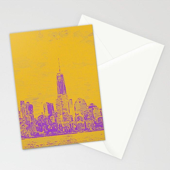 Manhatten Stationery Cards