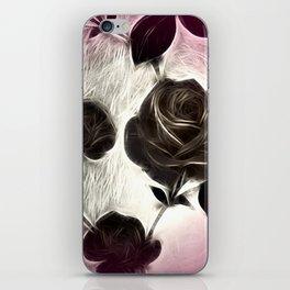 Rose among thorns iPhone Skin