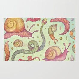 Snakes and Snails and Puppy-Dogs' Tails Rug
