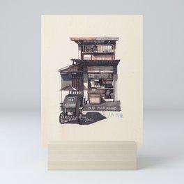 SARI-SARI STORE AND PEDICAB Mini Art Print