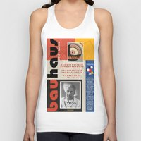 bauhaus Tank Tops featuring Bauhaus Poster by ThatGeorgeGuy