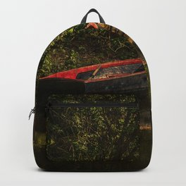 Dinghy On The Oxford Canal Backpack
