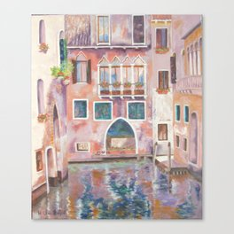 Magical Venice Canvas Print