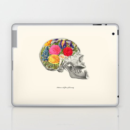 Politeness is the flower of humanity Laptop & iPad Skin