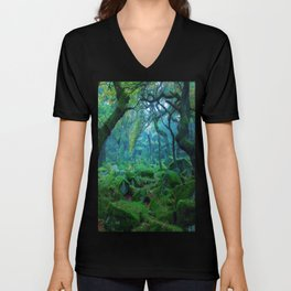 Enchanted forest mood Unisex V-Neck