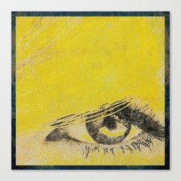 Rare View   Pop-Art Glamour EYE Canvas Print