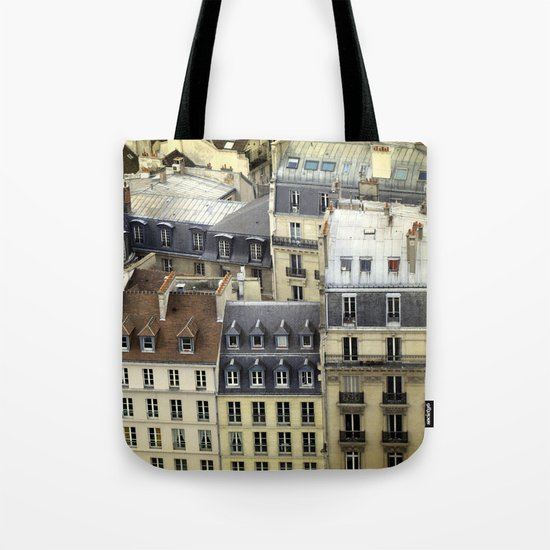 Paris Rooftop #2 Tote Bag