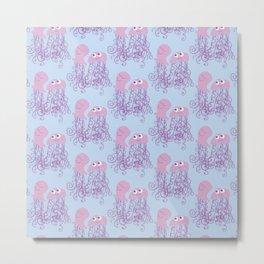 Jellyfish Love Metal Print