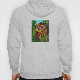 Henri Rousseau Mandrill In The Jungle Hoody