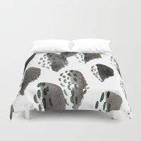 shells Duvet Covers featuring Shells by Tiffany Wong Art