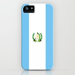 Guatemala country flag iPhone Case