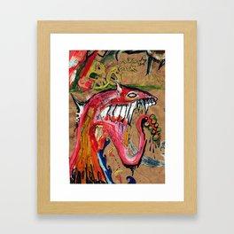 Walking Back From a Nightmare Framed Art Print