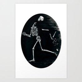 Runaway Futile Art Print