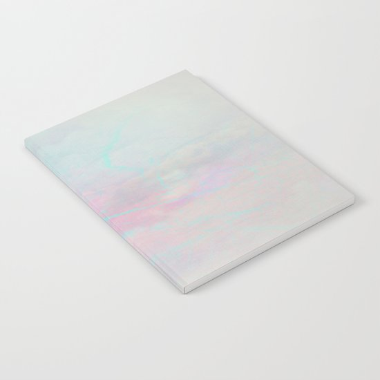 Twilight Marble Abstract Notebook